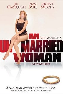 This is the poster for An Unmarried Woman