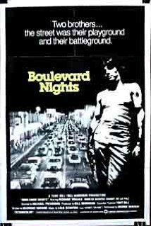 This is the poster for Boulevard Nights