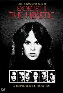 This is the poster for Exorcist II: The Heretic