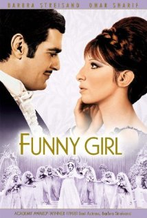 This is the poster for Funny Girl