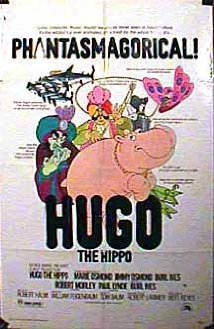 This is the poster for Hugo the Hippo