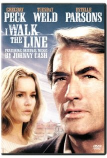 This is the poster for I Walk the Line