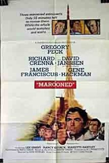 This is the poster for Marooned