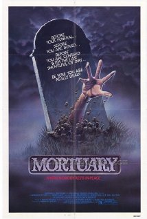 This is the poster for Mortuary