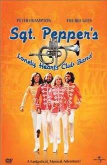 This is the poster for Sgt. Pepper's Lonely Hearts Club Band
