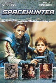 This is the poster for Spacehunter: Adventures in the Forbidden Zone