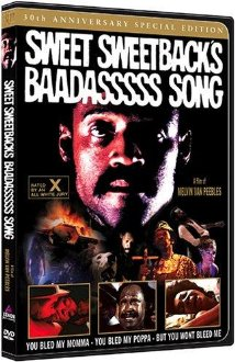 This is the poster for Sweet Sweetback's Baadasssss Song