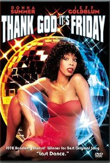 This is the poster for Thank God It's Friday