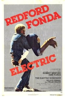 This is the poster for The Electric Horseman