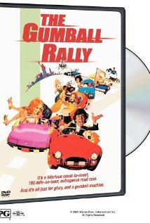 This is the poster for The Gumball Rally