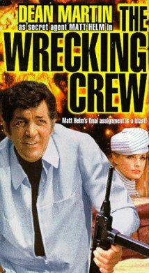 This is the poster for The Wrecking Crew