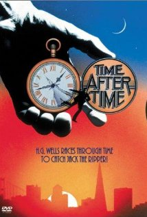 This is the poster for Time After Time