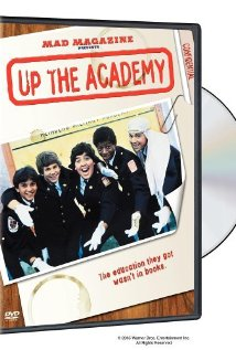 This is the poster for Up the Academy
