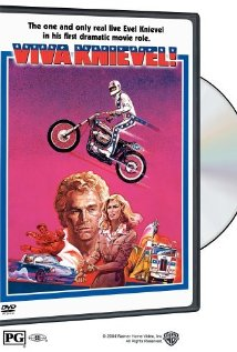 This is the poster for Viva Knievel!